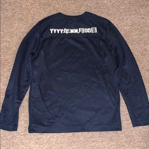 SMALL H&M Navy Long Sleeve
